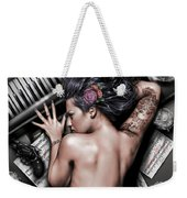 Ex Dono Dei Weekender Tote Bag by Pete Tapang