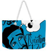 Examine Yourself-man Weekender Tote Bag