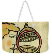 Examining  The  Federal Government Weekender Tote Bag