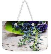 Excellent Customer Service. #flowers Weekender Tote Bag