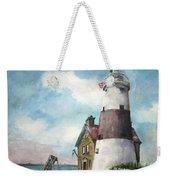 Execution Rocks Lighthouse Weekender Tote Bag