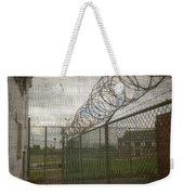 Exercise Yard Through Window In Prison Weekender Tote Bag