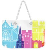 Exeter Skyline Pop Weekender Tote Bag