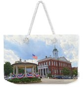 Exeter Town Hall Weekender Tote Bag