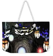 Exiting The Mother Ship Weekender Tote Bag