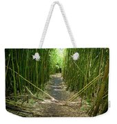 Exlporing Maui's Bamboo Weekender Tote Bag
