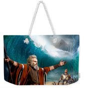 Exodus Moses And Pharaoh  Of Egypt Weekender Tote Bag