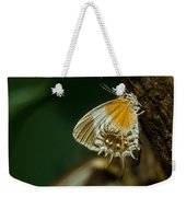 Exotic Butterfly On Tree Bark Weekender Tote Bag