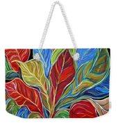 Exotic Foliage Weekender Tote Bag