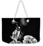 Exotic Orchid Bw Weekender Tote Bag