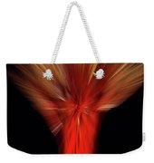 Exotic Wheat In Red Weekender Tote Bag