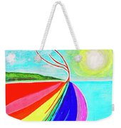 Expansive Flowing Colors In Nature Weekender Tote Bag