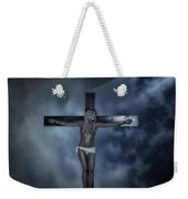 Experimental Crucifix In The Light Weekender Tote Bag