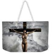 Experimental Female Crucifix 3d I Weekender Tote Bag