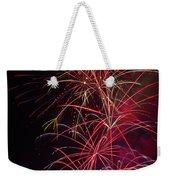 Exploding Festive Fireworks Weekender Tote Bag