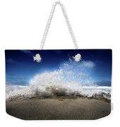 Exploding Seas Weekender Tote Bag