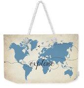 Explore Weekender Tote Bag
