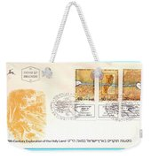 explorers First day cover Weekender Tote Bag