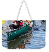 Exploring Along The Exeter Canal Weekender Tote Bag
