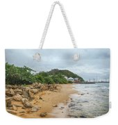 Exploring The Beach Weekender Tote Bag