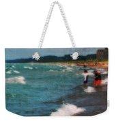 Exploring The Beach Weekender Tote Bag