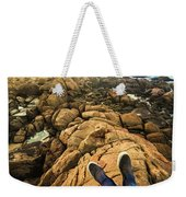 Exploring The Beaches Of Western Tasmania Weekender Tote Bag