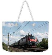 Express Train Weekender Tote Bag