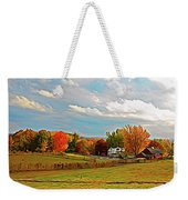 Expressionalism Autumn Farm Weekender Tote Bag