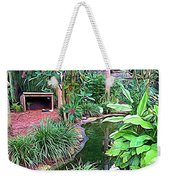 Expressionalism Beautiful Garden  Weekender Tote Bag