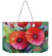 Expressionist Poppies Weekender Tote Bag