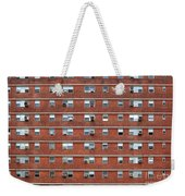 External Facade With Many Windows All Identical. Weekender Tote Bag