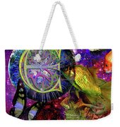 Extraterrestrial Fish In The Sea Weekender Tote Bag by Joseph Mosley