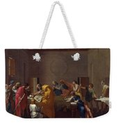 Extreme Unction Nicolas Poussin Weekender Tote Bag