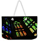 Exuberant Stained Glass Windows Weekender Tote Bag
