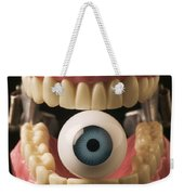 Eye Held By Teeth Weekender Tote Bag