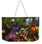 Eye In Chaos Weekender Tote Bag