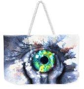 Eye In Hands 002 Weekender Tote Bag