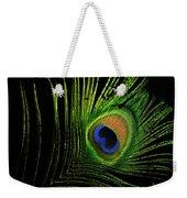 Eye Of A Peafowl Weekender Tote Bag