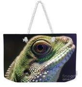 Eye Of Lizard Weekender Tote Bag