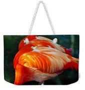 Eye Of The Flamingos Weekender Tote Bag