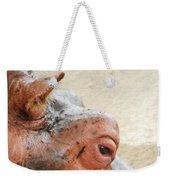 Eye Of The Hippo Weekender Tote Bag