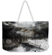 Eye Of The Storm Weekender Tote Bag by Mary Hood