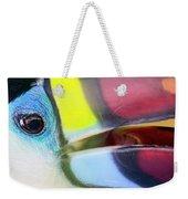 Eye Of The Toucan  Weekender Tote Bag