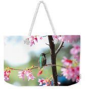 Eye On Spring Weekender Tote Bag