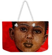 Eyes Of Innocence Weekender Tote Bag