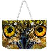 Eyes Of Owls 18 Shirt Weekender Tote Bag