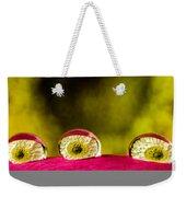 Eyes Of The Petal Weekender Tote Bag