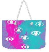 Eyes, The Look Weekender Tote Bag