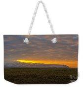 Eyjafjallajokull Sunrise Iceland Weekender Tote Bag