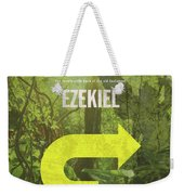 Ezekiel Books Of The Bible Series Old Testament Minimal Poster Art Number 26 Weekender Tote Bag